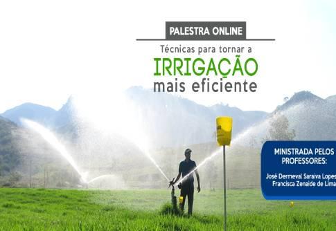 Irrigação com qualidade faz a diferença